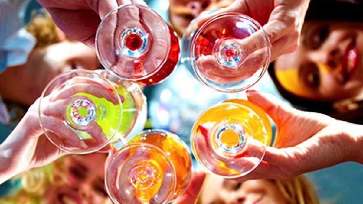 Украинцы пьют в два раза меньше алкоголя, чем россияне и европейцы, - Минздрав