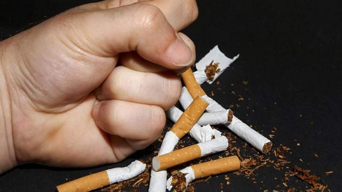 Людям удается бросить курить только с пятого раза