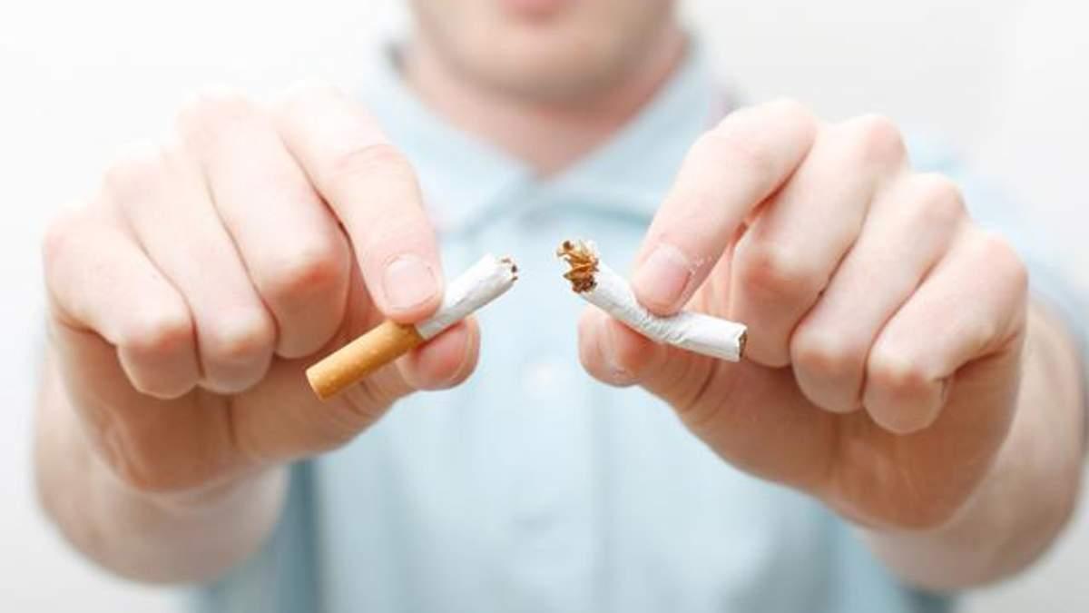 Кількість курців в Україні зменшилася майже на 20%