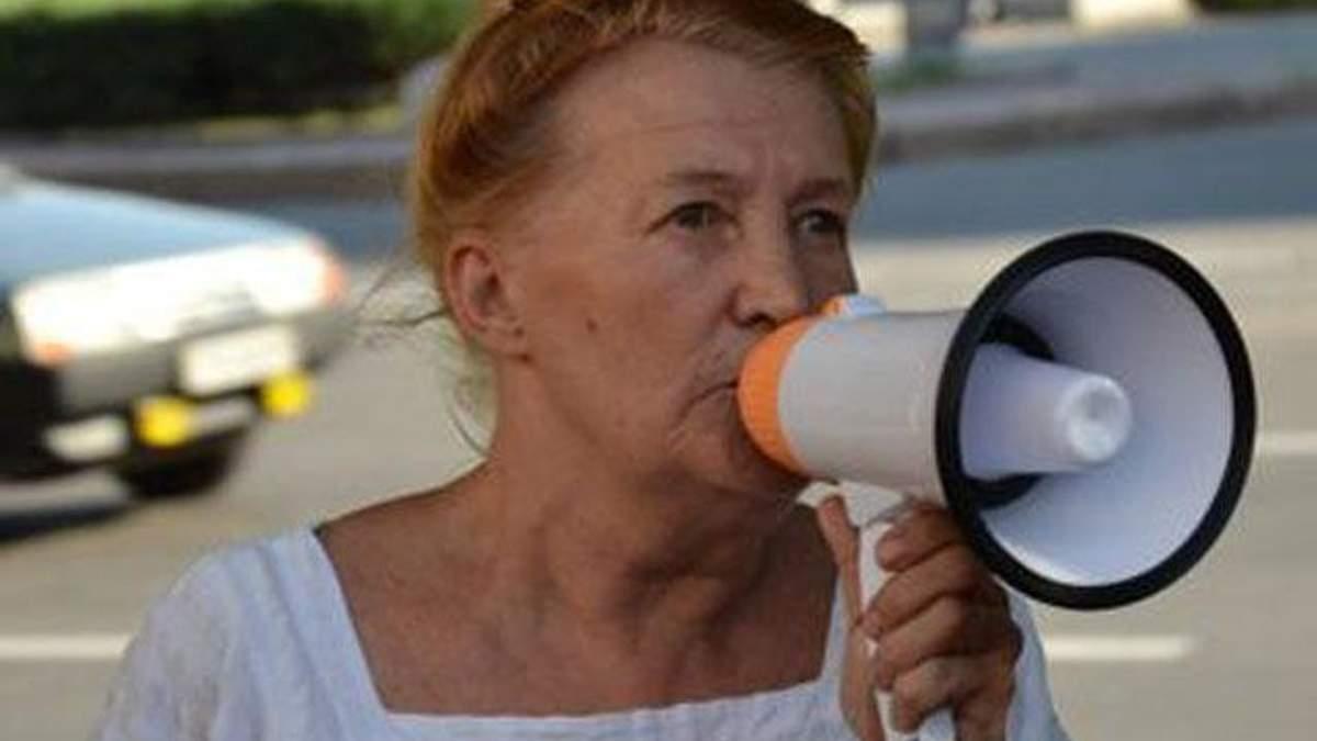 Активістка з Запоріжжя, яка постійно сварилася в владою, потрапила у психлікарню