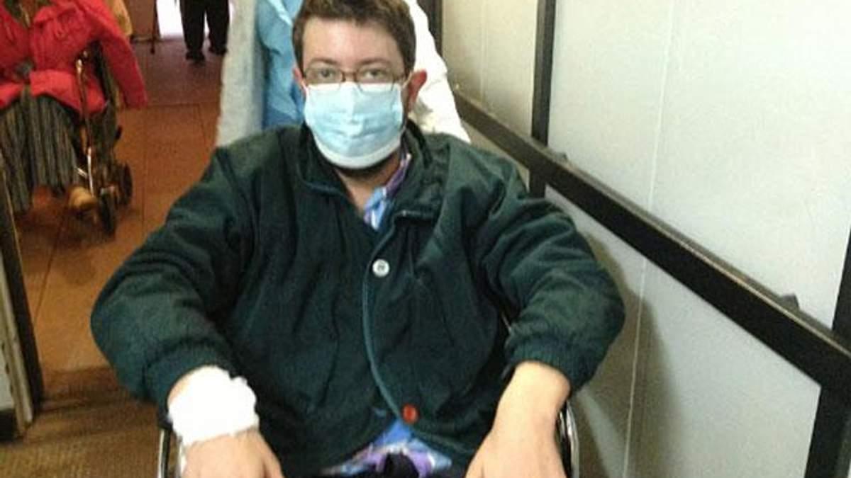 Блогер Лебєдєв захворів на тропічну малярію