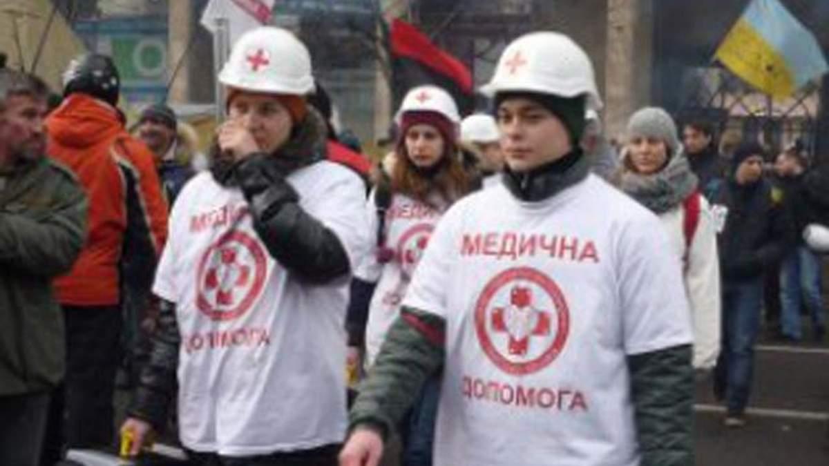 Активисты Евромайдана болеют и нуждаются в воде