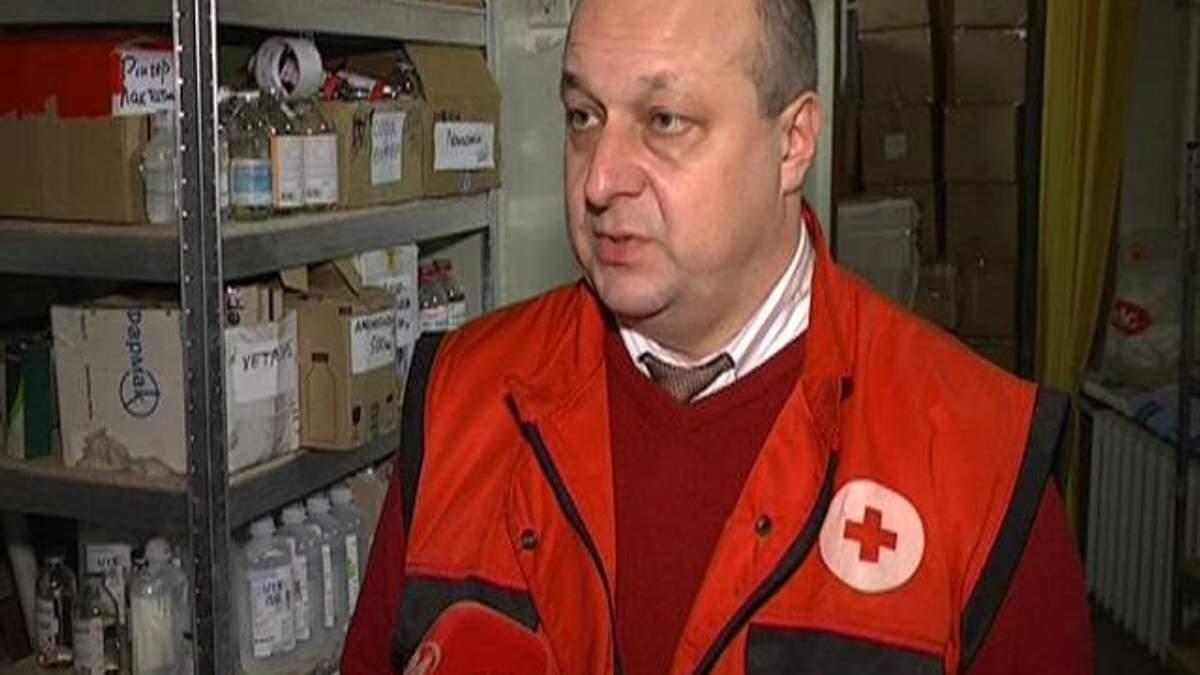 Собранные для Евромайдана медикаменты передают в больницы