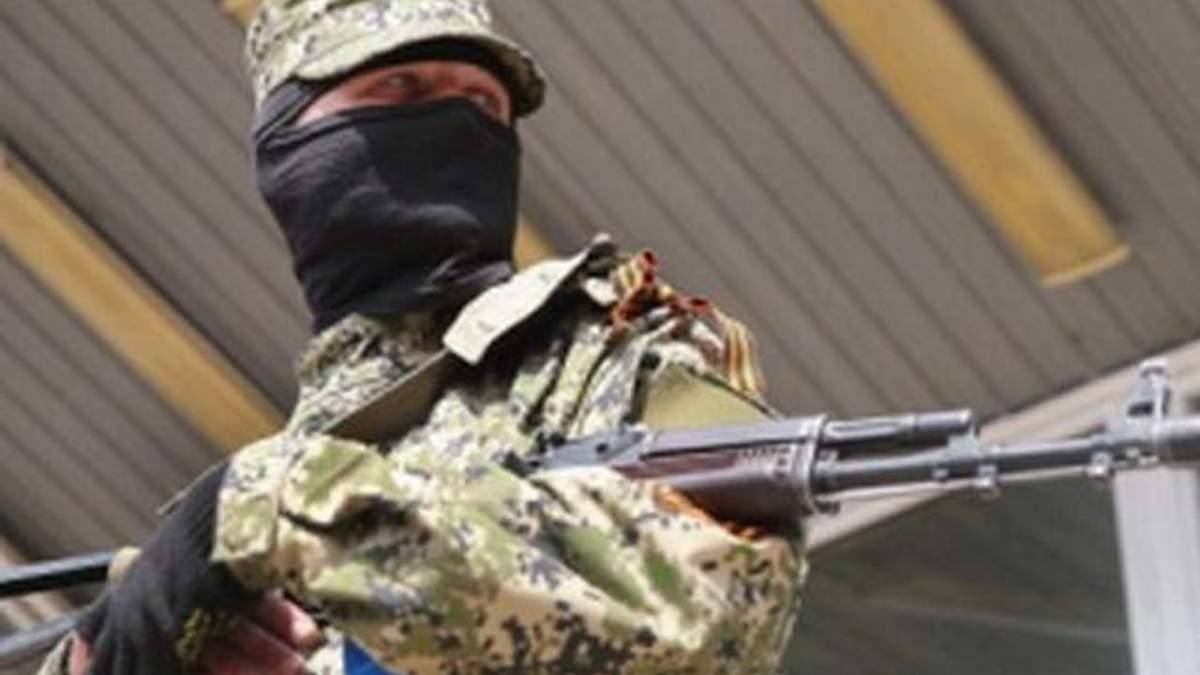 Террористы похитили двух раненых бойцов