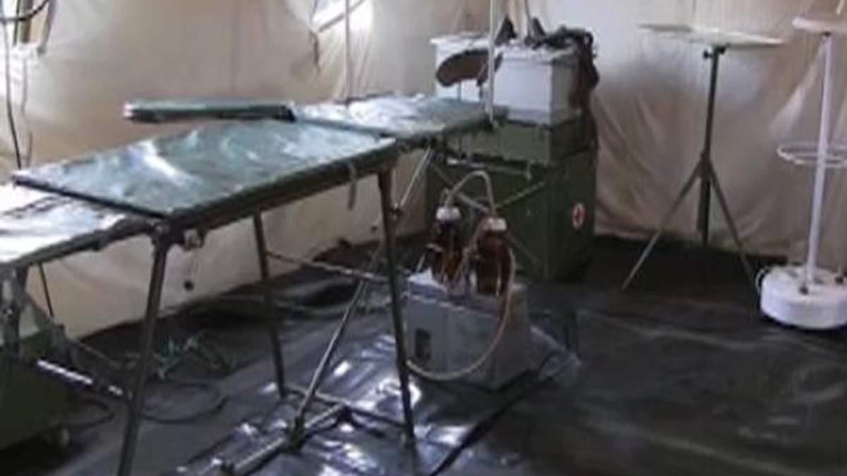 До відправлення у зону АТО готують польовий госпіталь