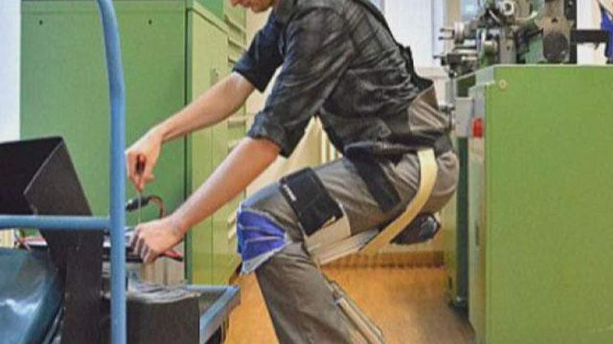 Швейцарський стартап Noonee розробляє інноваційний екзоскелет
