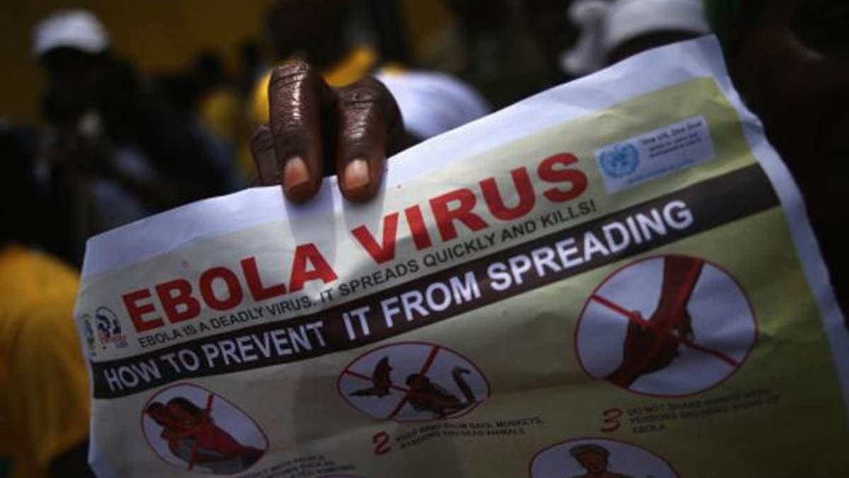 У США від віруса Ебола помер лікар