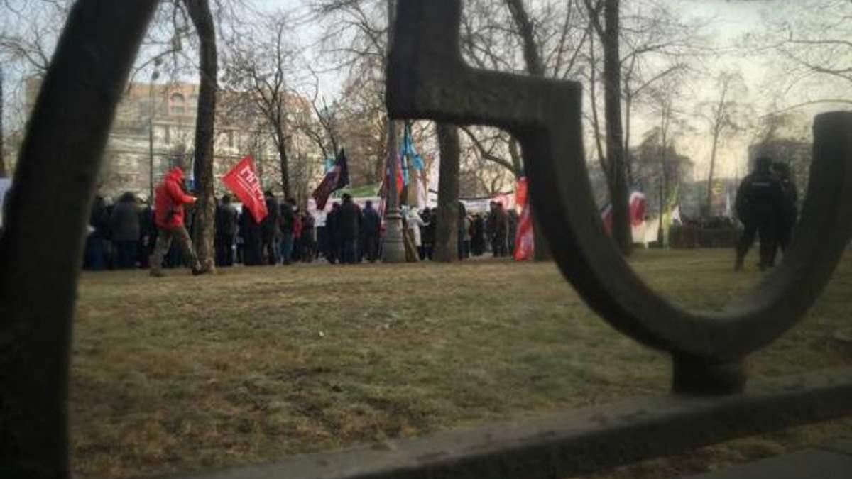 В Москве медики вышли на митинг (Фото)