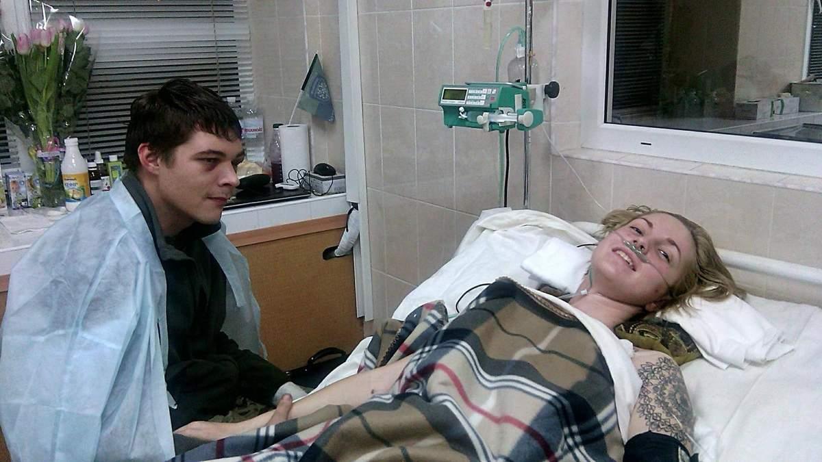 Волонтер Зінкевич розповіла деталі ДТП, яка ледь не стала фатальною