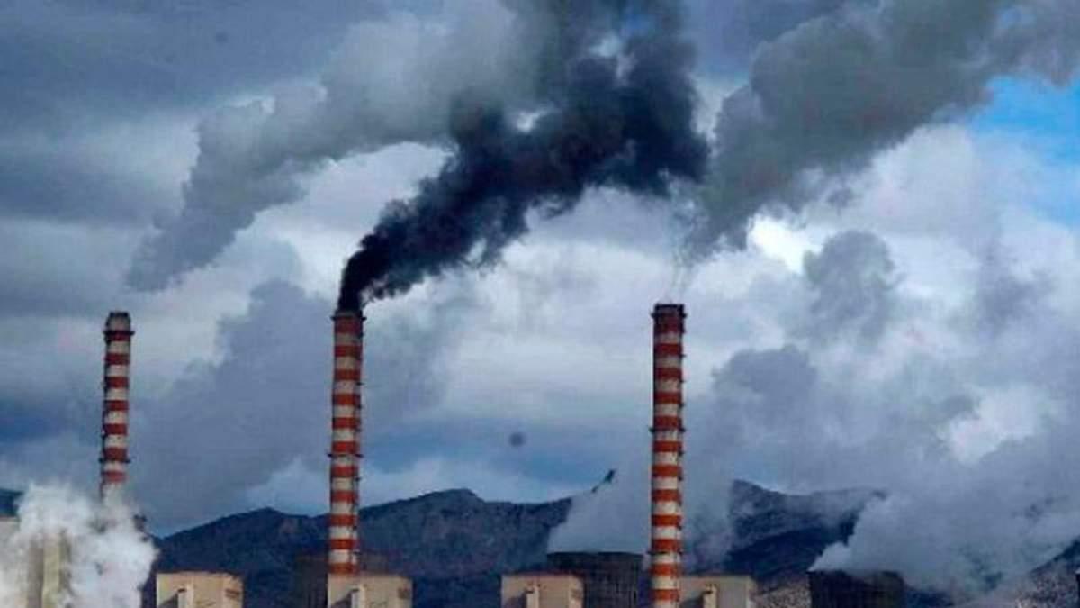 Україна потрапила в десятку найзабрудненіших країн світу