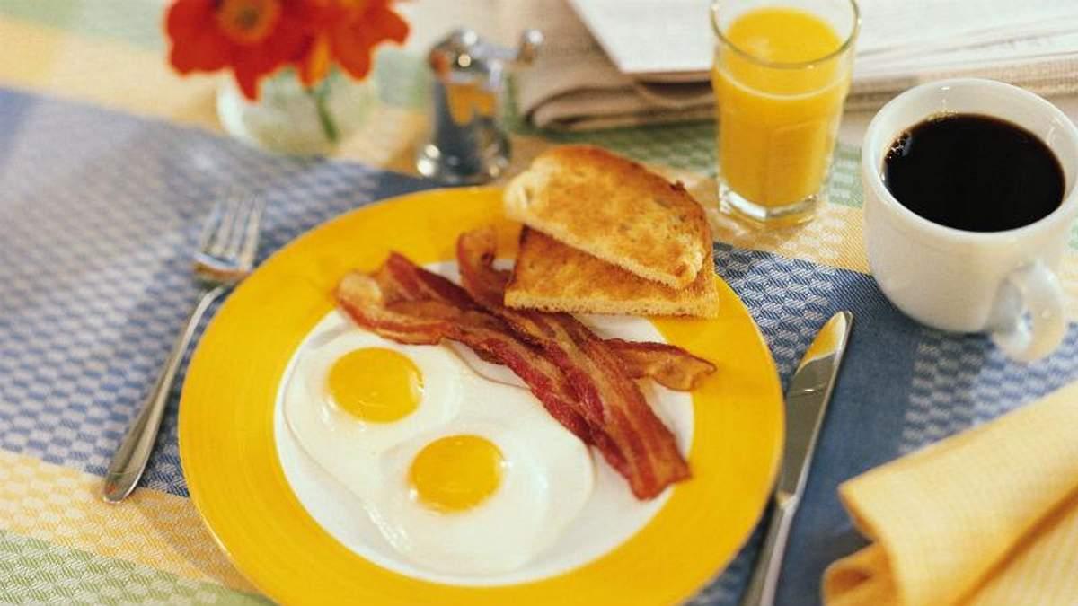 5 продуктів, які не можна вживати на сніданок