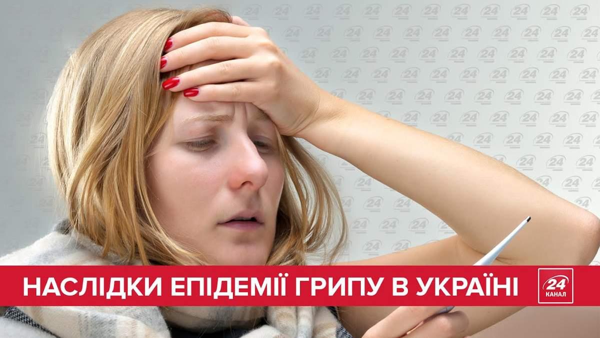 Последствия эпидемии гриппа