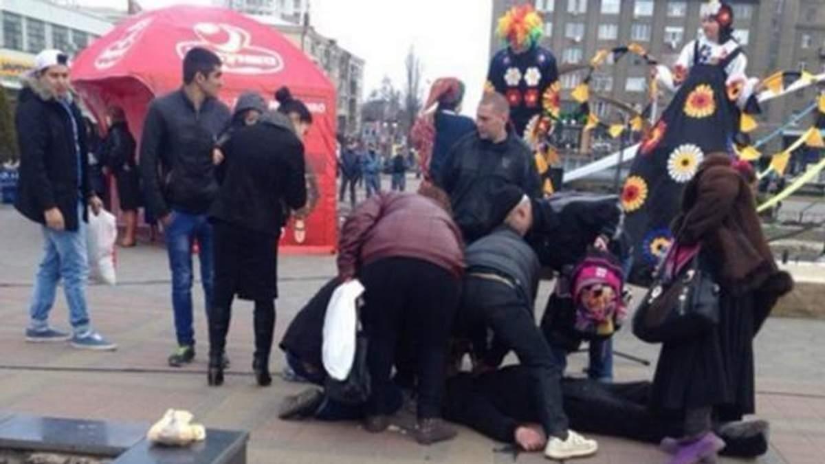 Инцидент в Харькове