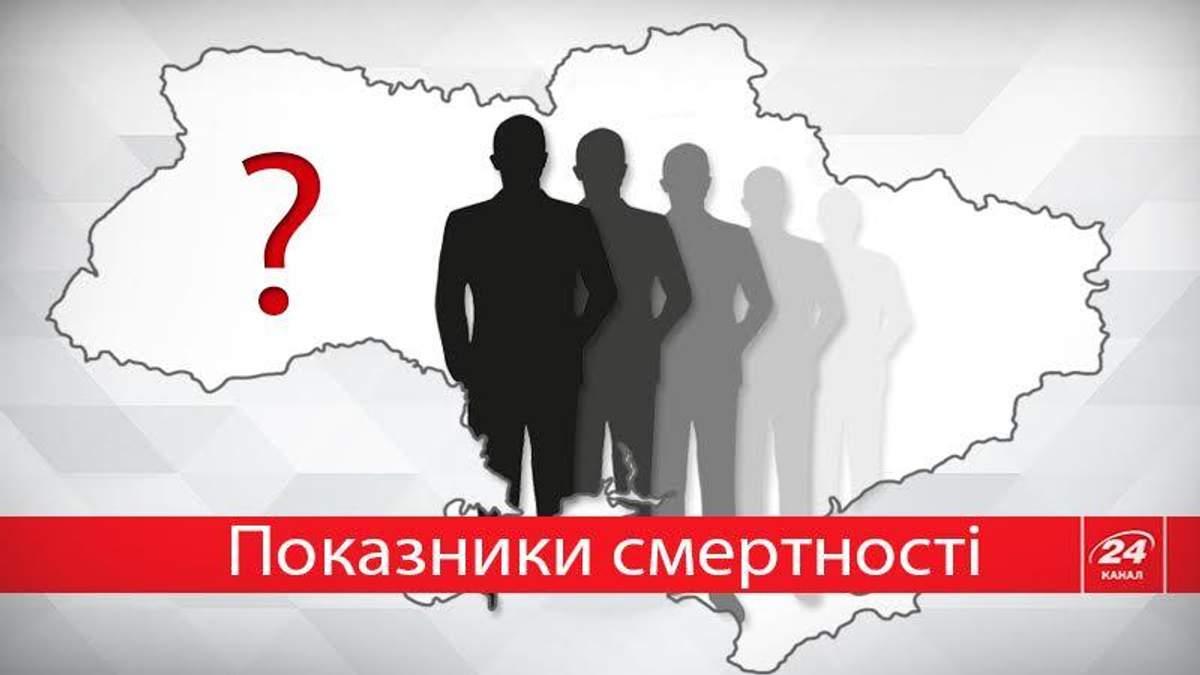 Украина среди лидеров в жутком списке смертности: инфографика