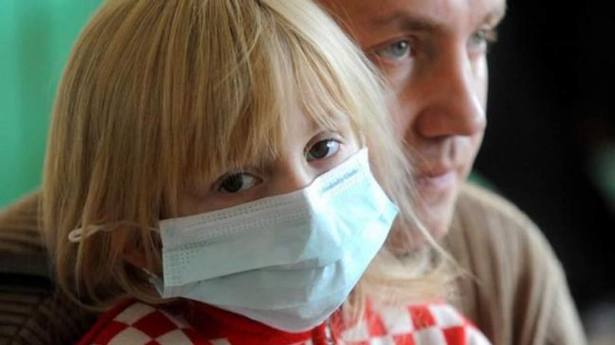 Епідпоріг захворюваності на грип та ГРВІ перевищено на Черкащині