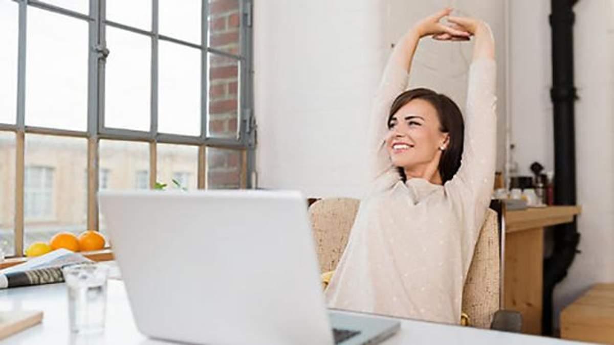 Эффективная разминка, которую можно делать в офисе