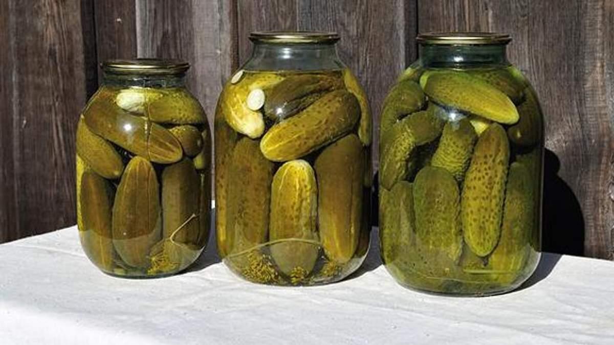 Солоні огірки