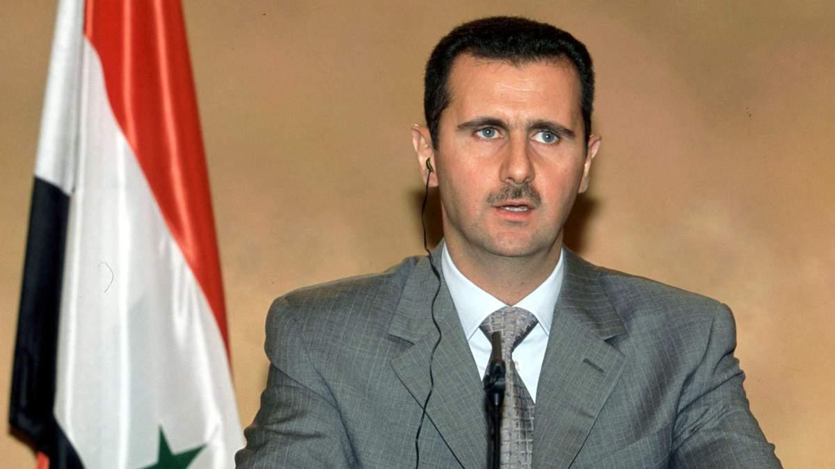 Сирійський уряд прокоментував стан здоров'я Асада