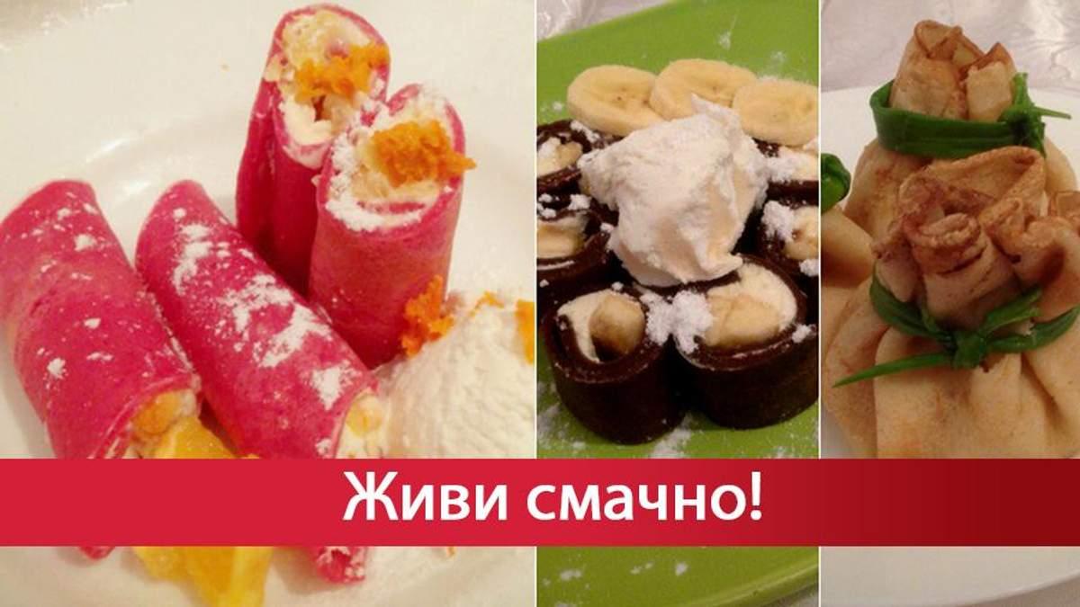 Рецепти млинців з фото: млинці на Масляну 2018 - рецепти