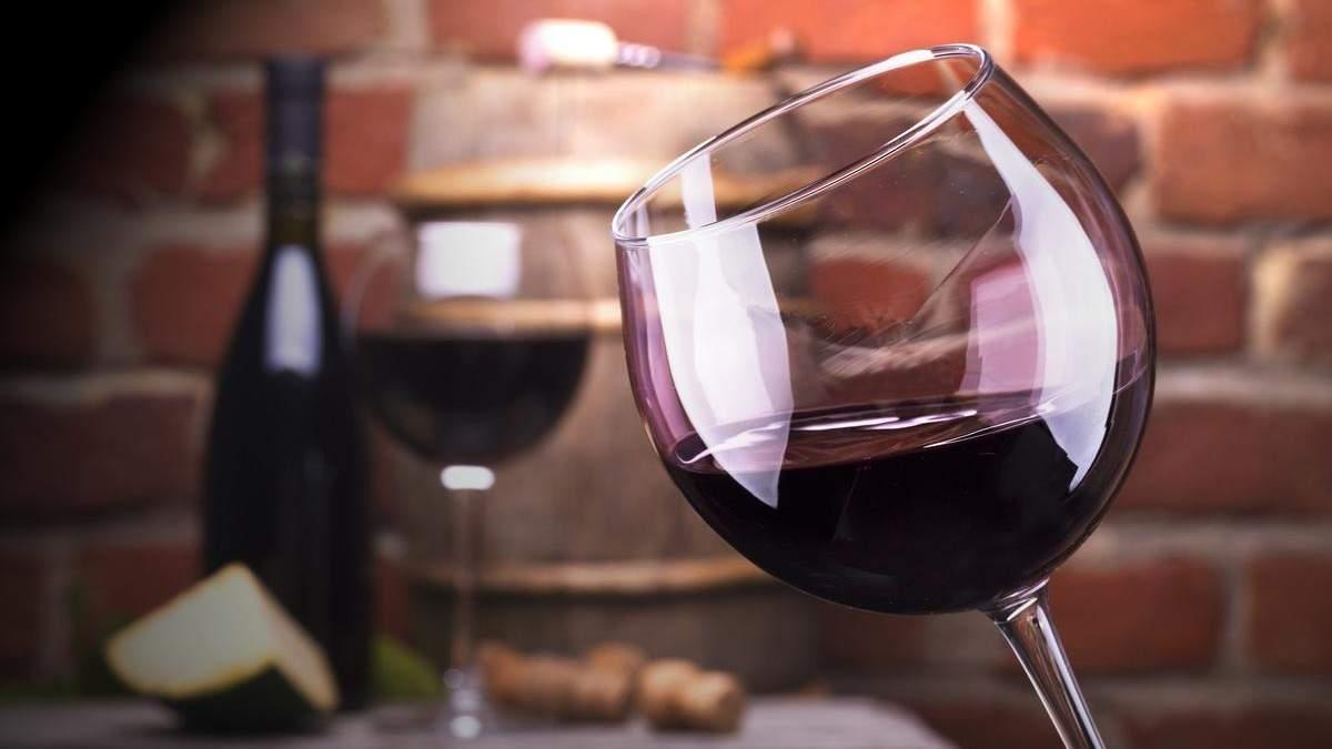 Червоне вино зупиняє старіння