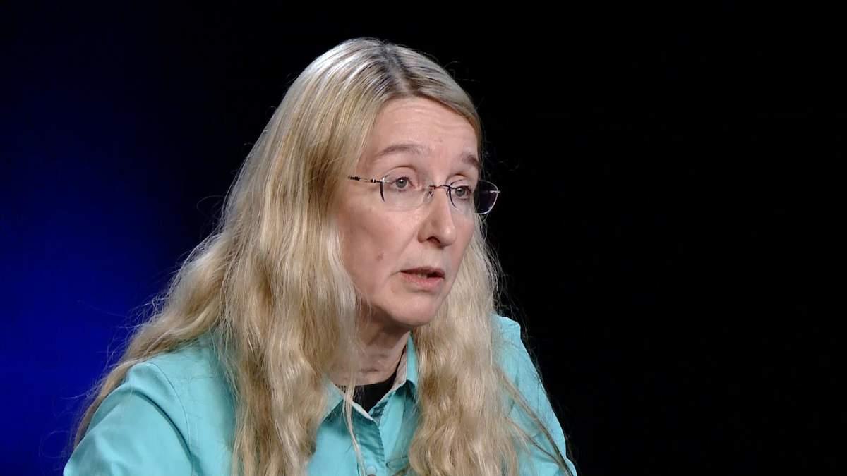 Супрун прокомментировала ситуацию с сыворотками для ботулизма в Украине