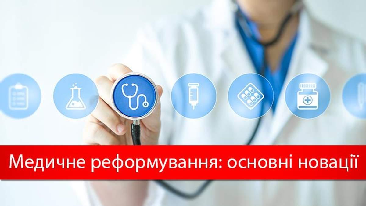 Медична реформа в Україні 2017: які зміни чекають українців