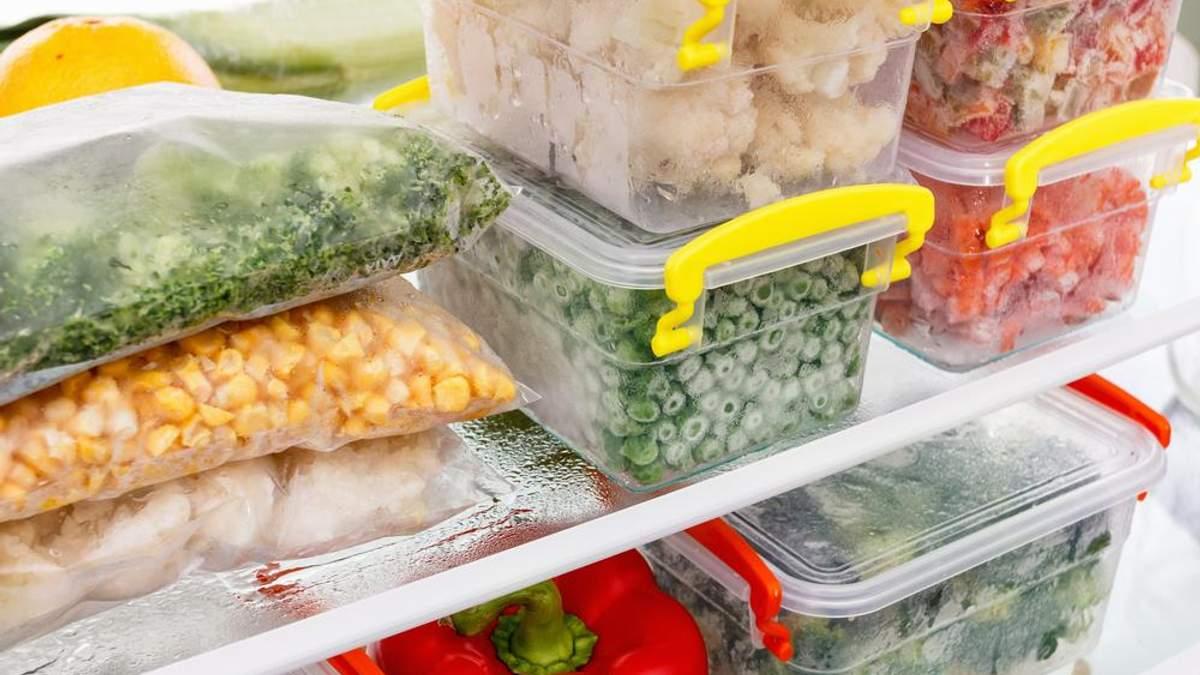 Як заморозити ягоди, фрукти та овочі: основні правила