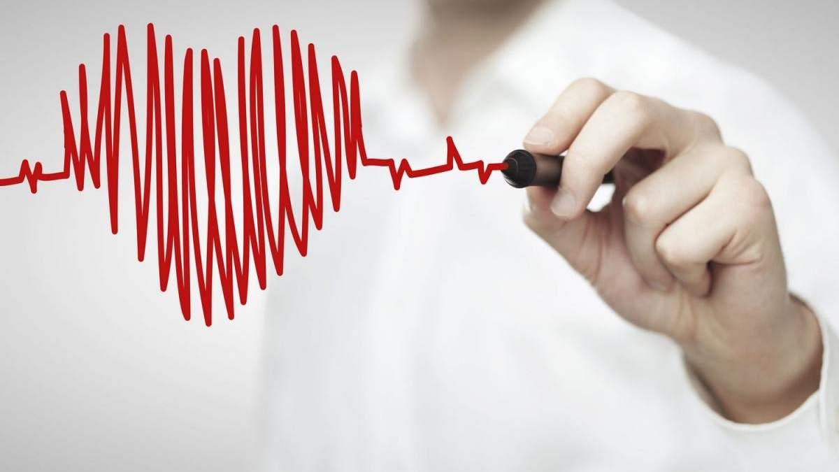 Серцево-судинні захворювання поширені серед українців