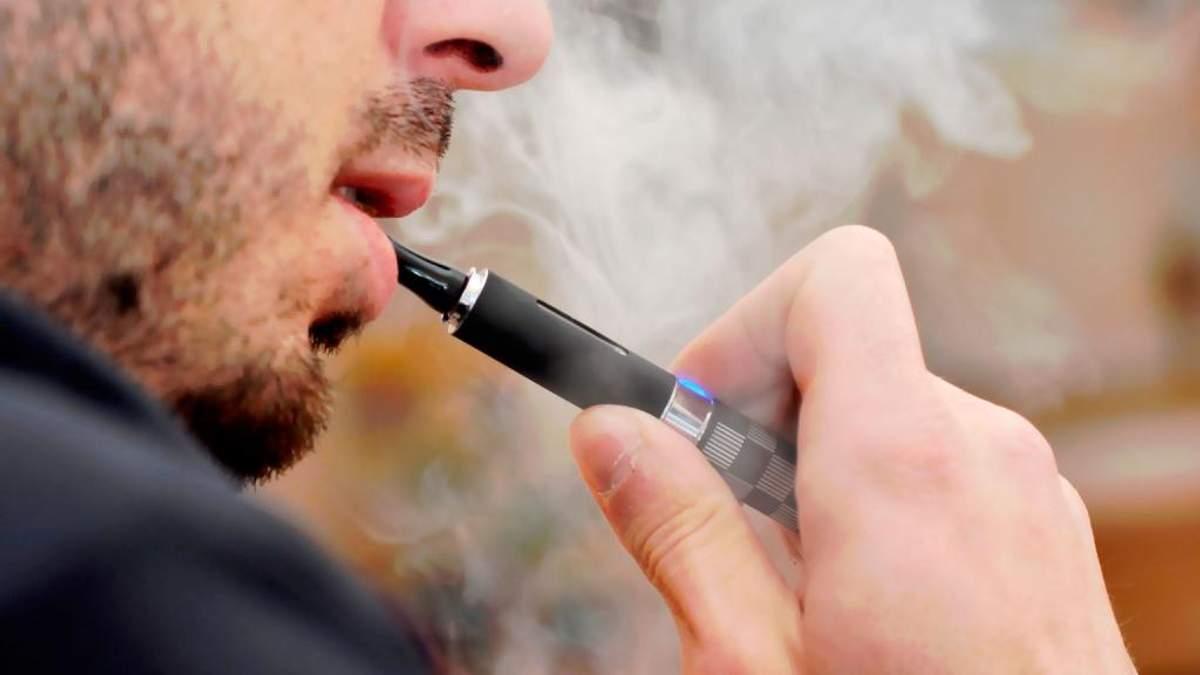 Електронні сигарети сприяють старінню судин, – висновки вчених