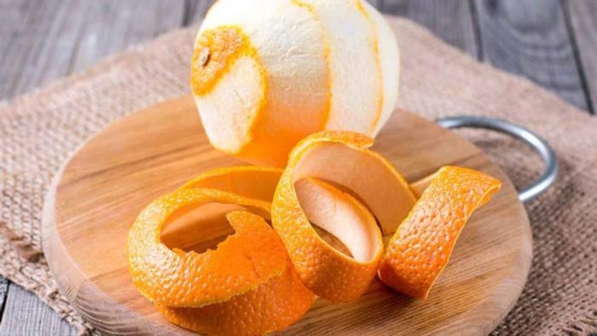 5 очень полезных свойств апельсиновой кожуры