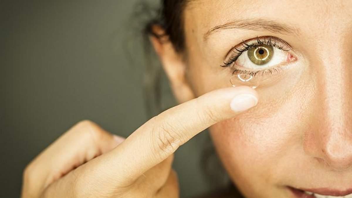 5 помилок, які ви робите з контактними лінзами