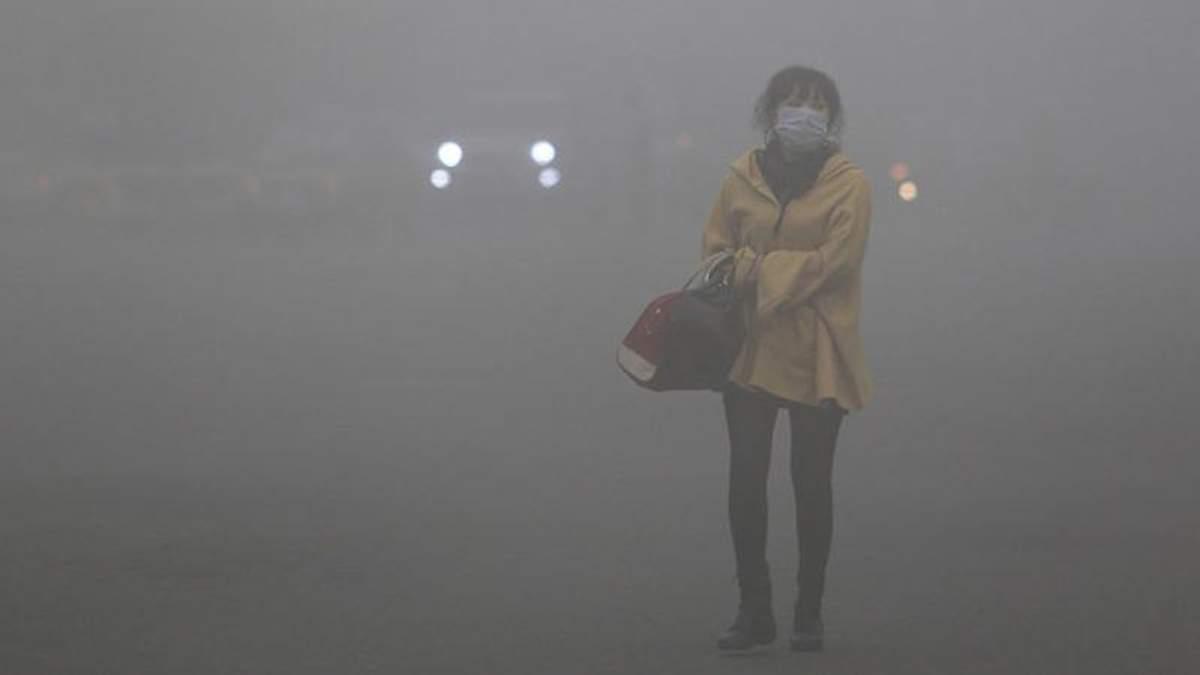 Загрязненный воздух – одна из причин заболевания легких