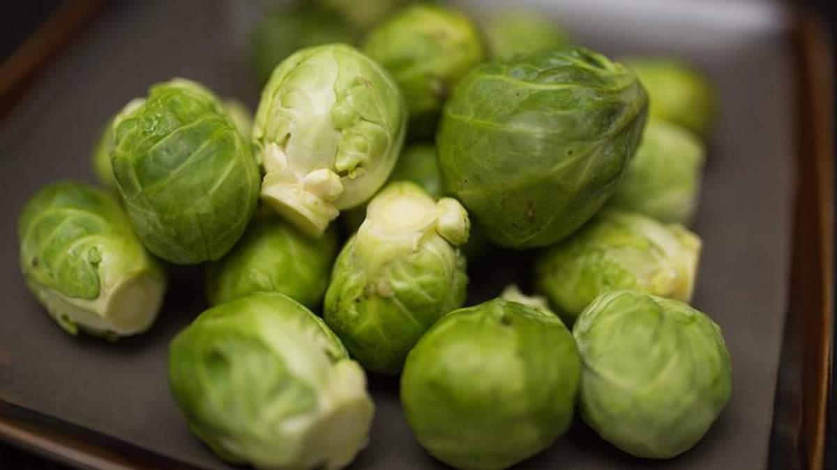 Як приготувати брюссельську капусту