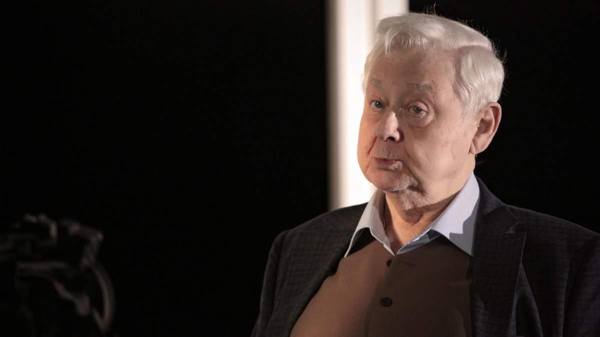 Олег Табаков у лікарні: стан Табакова - нові подробиці