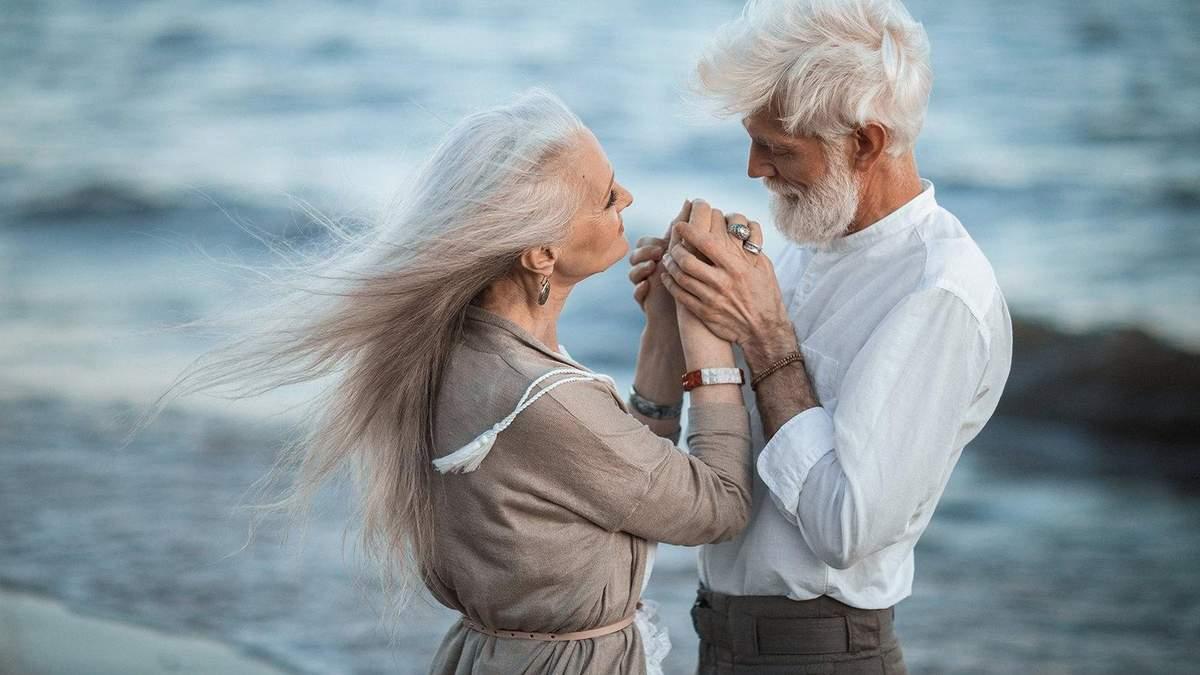 Закохані літні люди