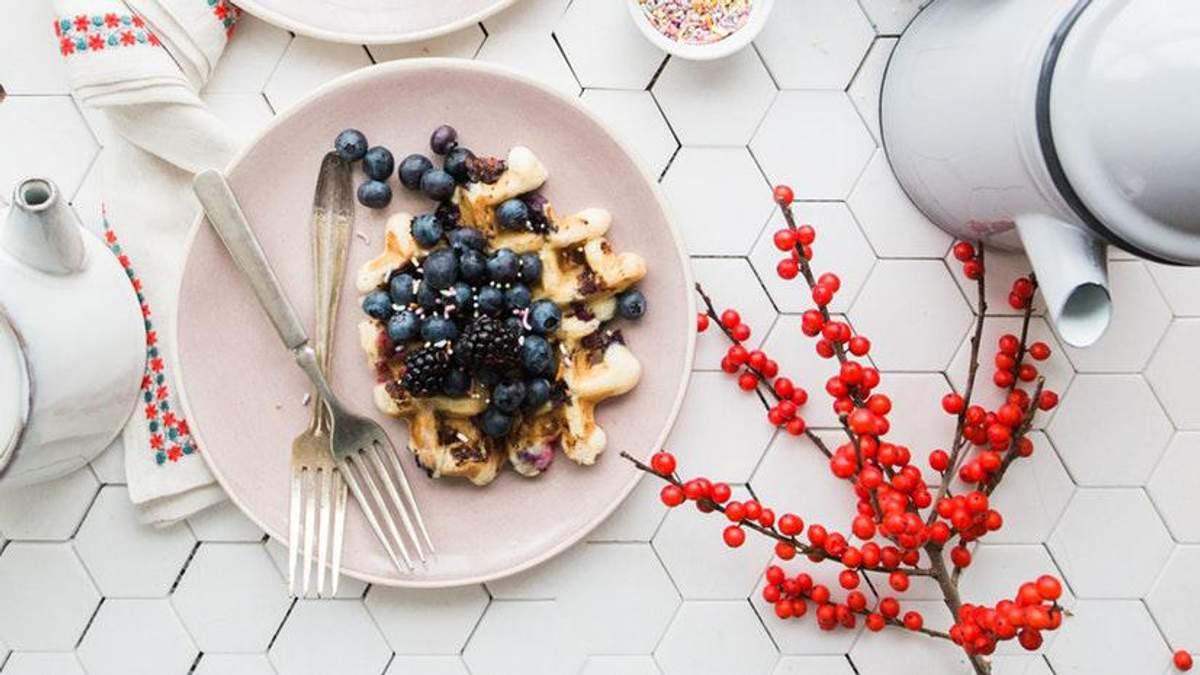 Идеальный завтрак зимой