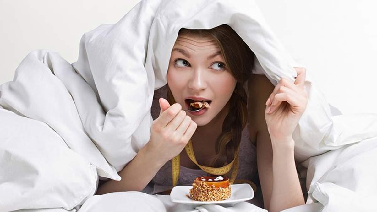 Що відбувається з вашим організмом, якщо ви їсте на ніч