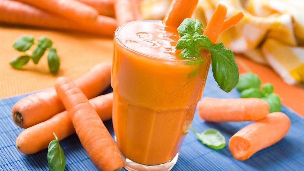 Чому морквяний сік такий корисний для жінок: пояснення експертів