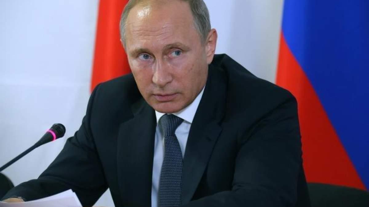 Путин заболел