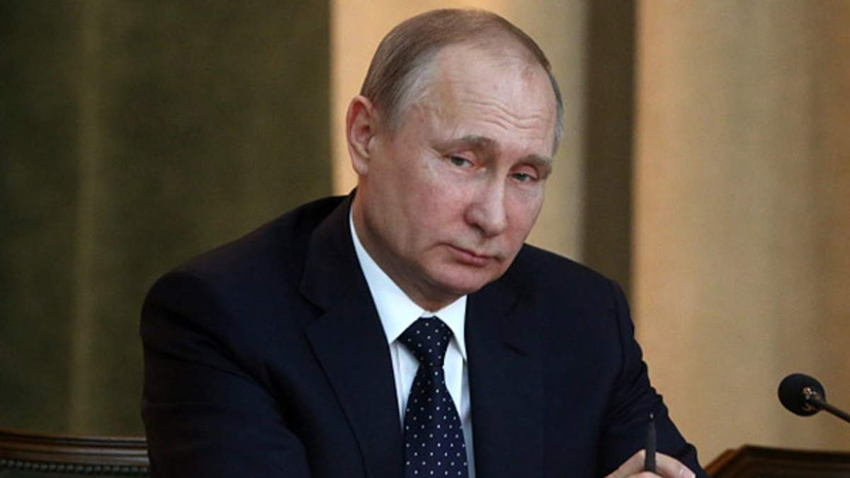 Больной Путин пришел на публичное мероприятие: фото