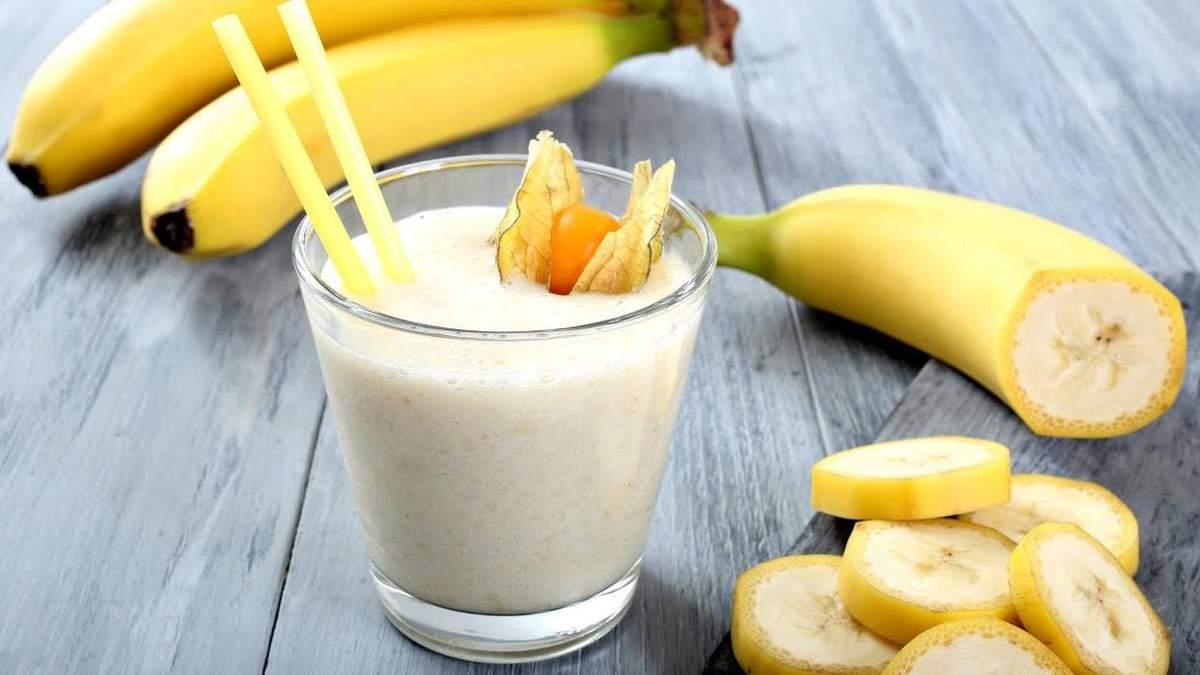 3 ароматных рецепта банановых напитков, которые вылечат кашель