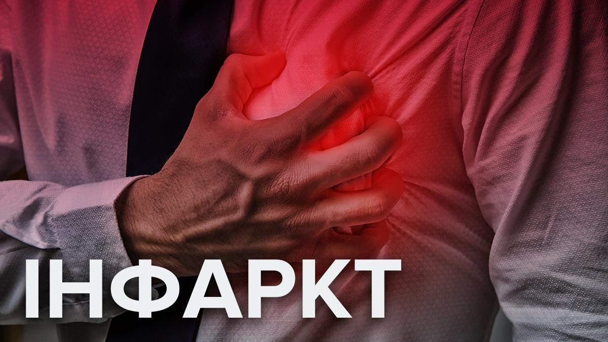 Інфаркт: симптоми, лікування, перша допомога та причини