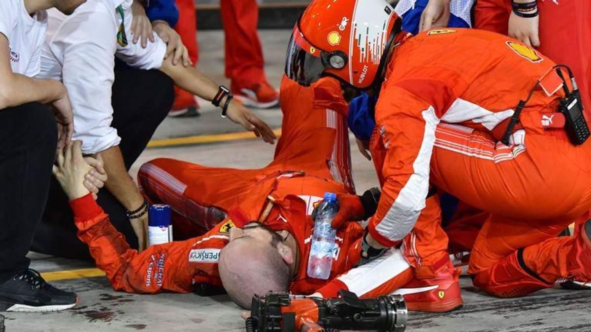 Внаслідок наїзду на ногу механік зазнав перелому гомілкових кісток