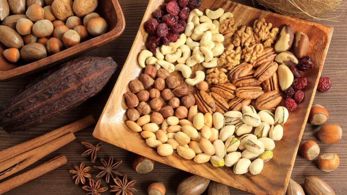 Вживання горіхів корисне для серця