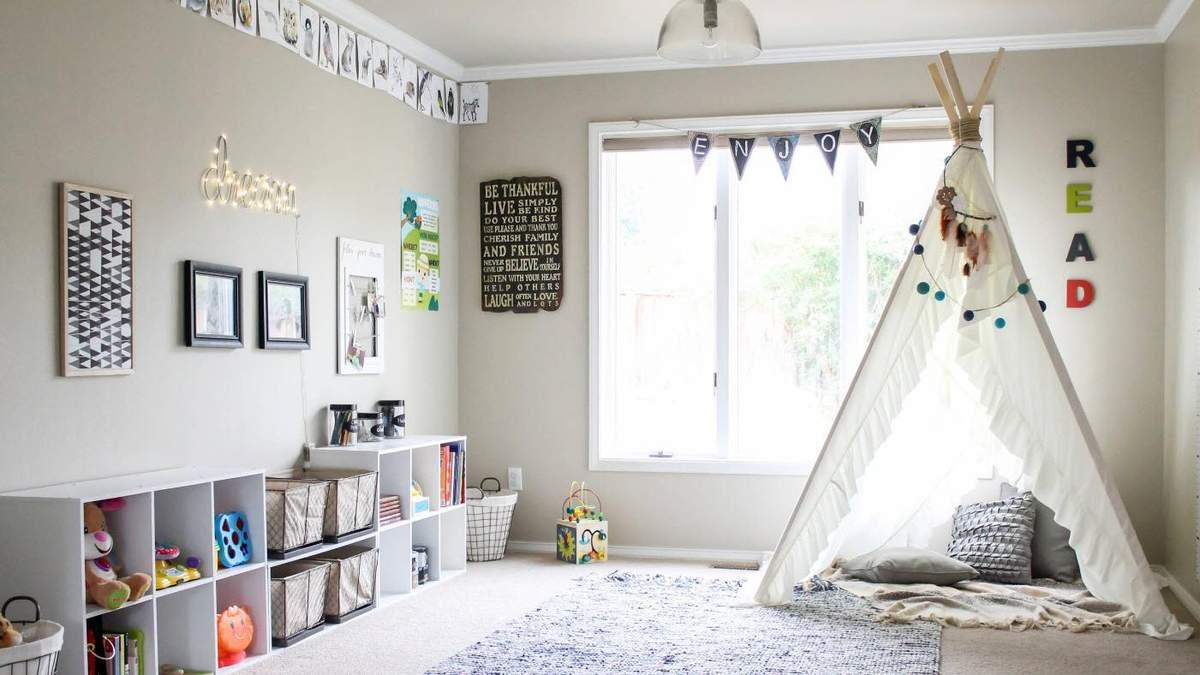 Топ-10 речей для малюка, які будуть зайвими у кімнаті