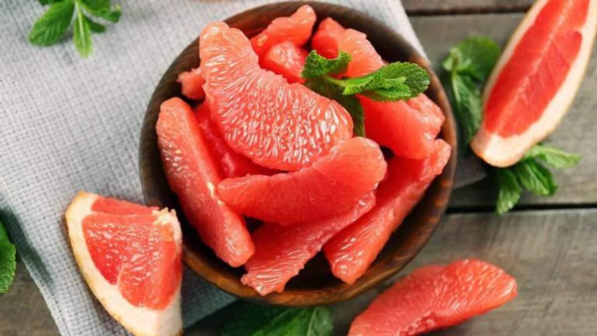 Грейпфрут зменшує рівень тривоги