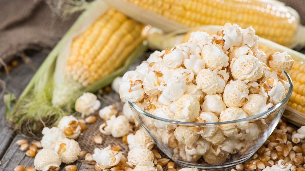 Чим корисний та шкідливий попкорн