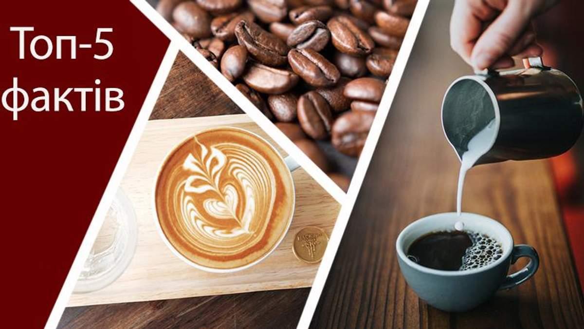 Міфи та корисні властивості про каву: топ-5 фактів