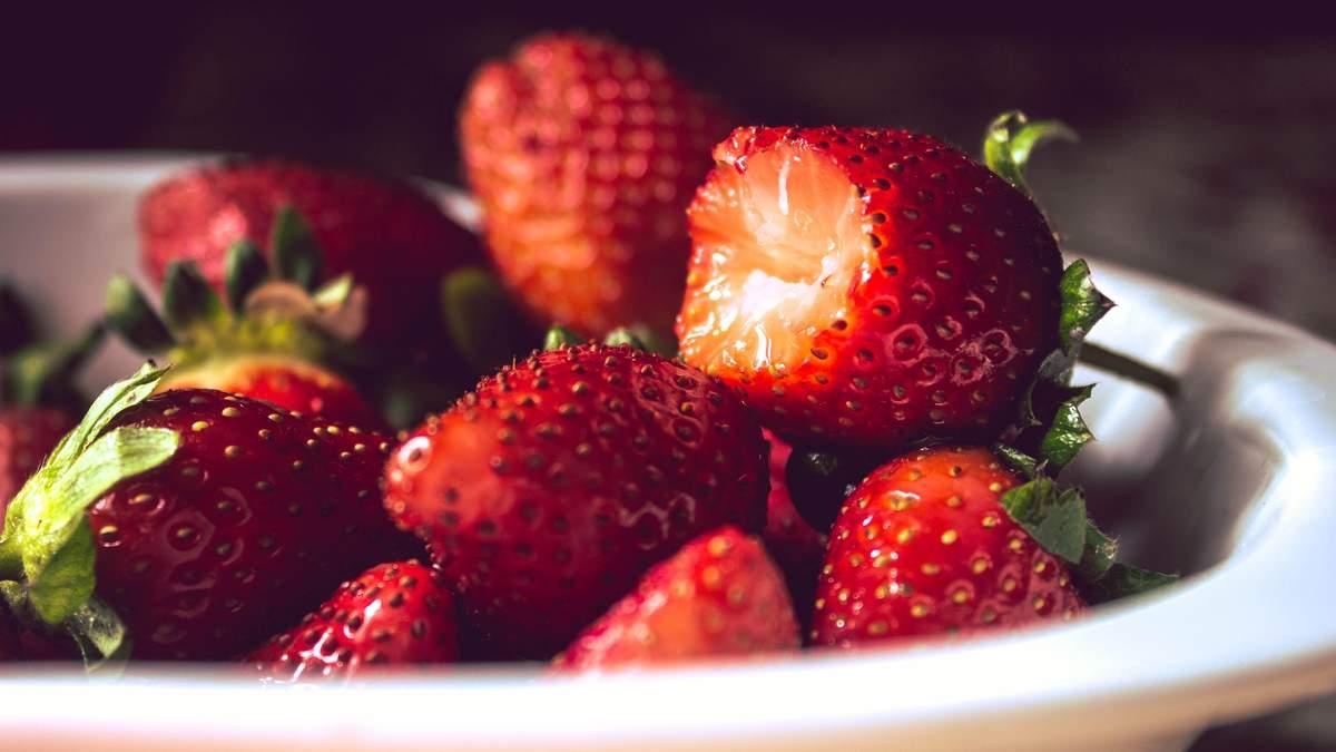 У чому користь полуниці