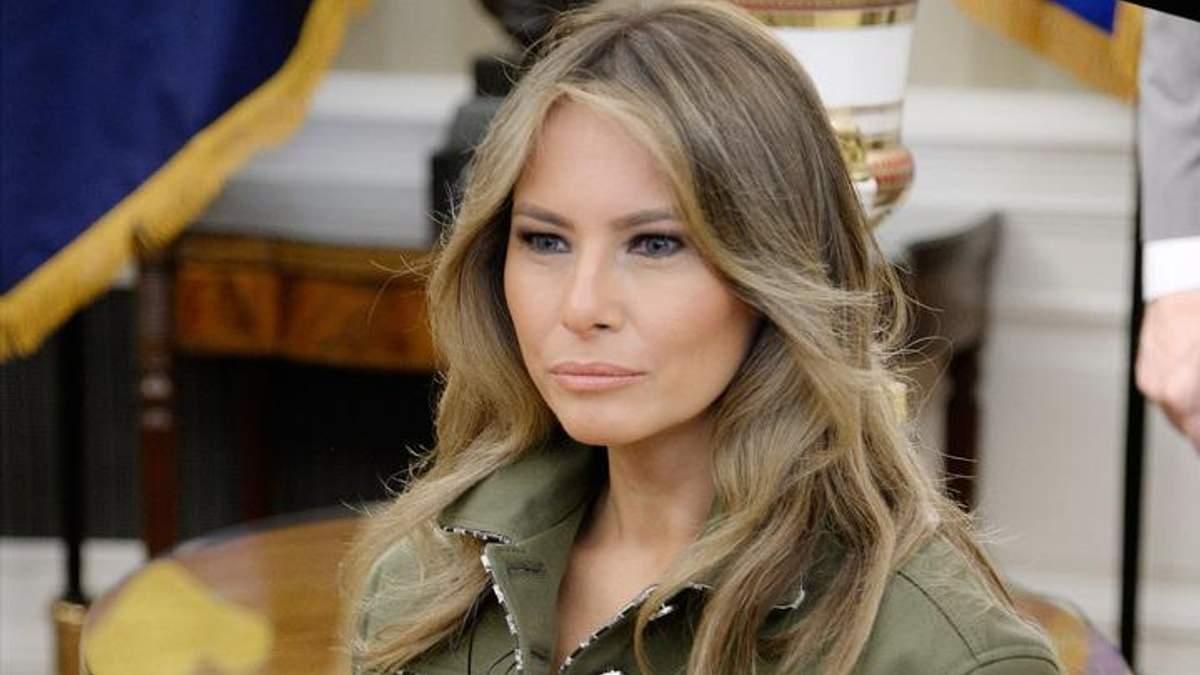 Меланія Трамп повернулась у Білий дім після операції